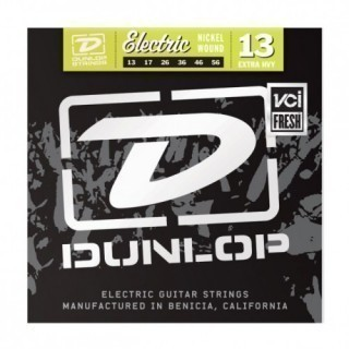 DUNLOP DEN Nickel Plated Steel 13-56 струны для электрогитары