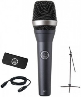 AKG D5 STAGE PACK -  ��������: �������� D5 + ��������� SA61 + ������-������� + ����������� ���� 5�
