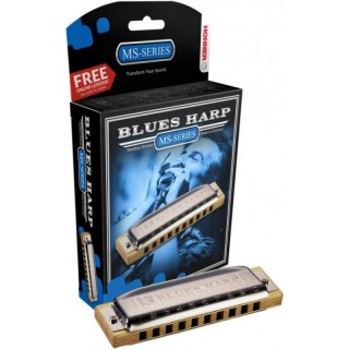 HOHNER Blues Harp 532/20 MS Db (M533026X) - губная  гармоника - Richter Modular System (MS)
