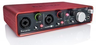 FOCUSRITE Scarlett 2i4 2nd Gen USB - аудио интерфейс