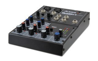 ALESIS MultiMix 4USB - ���������� 4-��������� ���������� ������