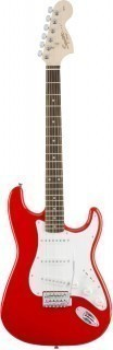 FENDER SQUIER AFFINITY STRAT RCR RW - электрогитара Stratocaster, цвет Race Red