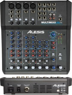 ALESIS MultiMix 8USBFX - микшер