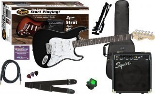 FENDER SQUIER AFFINITY SERIES� STRAT� BLACK - �����: �������������, ���� ������, � ��������� 10G