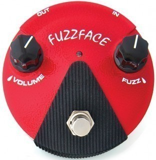 DUNLOP FF�2 Germanium Fuzz Face Mini Distortion ������ �������� ����, �����������