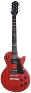 EPIPHONE LP STUDIO WORN CHERRY CH HDWE - электрогитара