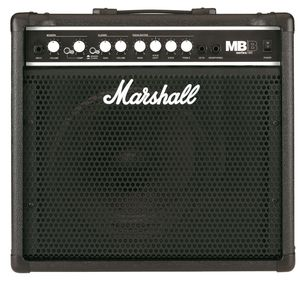 MARSHALL MB30 30W BASS COMBO 2 CHANNEL, SERIAL EFFECT LOOP - комбо басовый