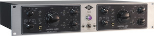 UNIVERSAL AUDIO 2-610S Dual Channel Tube Mic/Inst Pre-EQ Silverface 2-