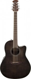 OVATION CS24P-TBBY Celebrity Standard Plus Mid Cutaway Trans Black Flame Maple - гитара электроакустическая