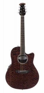 OVATION CS28P-TGE Celebrity Standard Plus Super Shallow Tiger Eye - электроакустическая гитара
