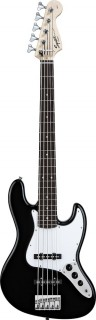 FENDER SQUIER AFFINITY JAZZ BASS (RW) BLACK - бас гитара