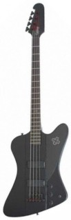 EPIPHONE GOTH T-BIRD IV BASS PLAIN BLACK BLK - бас гитара