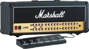 MARSHALL JVM410H 100 WATT ALL VALVE 4 CHANNEL HEAD - гитарный усилитель