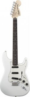 FENDER SQUIER DELUXE STRAT HOT RAILS OLIMPIC WHITE электрогитара
