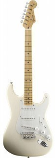 FENDER AMERICAN VINTAGE '56 STRATOCASTER MN AGED WHITE BLONDE - электрогитара с кейсом