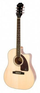 EPIPHONE AJ-220SCE Solid Top Ac/Electric Natural электроакустическая гитара