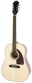EPIPHONE AJ-220S Solid Top Acoustic Natural - акустическая гитара