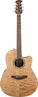OVATION CS24P-4Q Celebrity Standard Plus Mid Cutaway Natural Quilt Maple - электроакустическая гитара