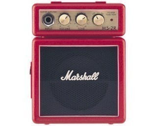 MARSHALL MS-2R-E MICRO AMP (RED) - микрокомбо