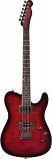 FENDER SPECIAL EDITION CUSTOM TELECASTER RW HH BLACK CHERRY BURST - электрогитара