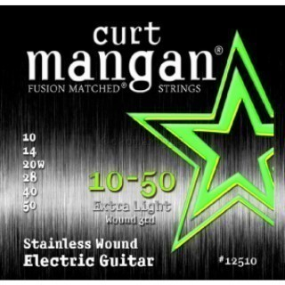 CURT MANGAN Electric Stainless Steel 10-50 струны для электрогитары