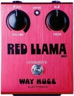 DUNLOP WHE203 Red Llama Overdrive ������ �������� ���������