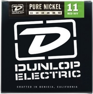 DUNLOP DEK Pure Nickel 11-50 струны для электрогитары