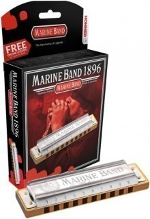 HOHNER Marine Band 1896/20 A nat. minor (M1896506X) - губная гармоника