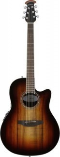 OVATION CS28P-KOAB Celebrity Standard Plus Super Shallow Koa Burst - электроакустическая гитара