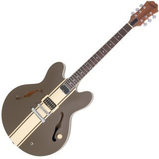 EPIPHONE TOM DELONGE SIGNATURE ES-333 BROWN - Полуакустическая электрогитара
