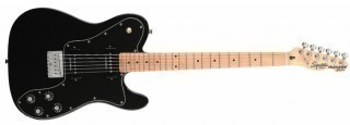 FENDER SQUIER VINTAGE MODIFIED TELE CUSTOM II P90 MN BLACK - электрогитара