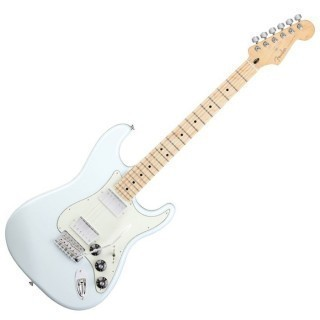 FENDER STRATOCASTER BLACKTOP HH MN SNB - электрогитара