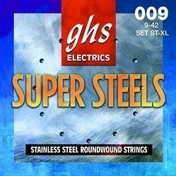 GHS ST-XL Super Steels Струны для электрогитары