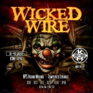 KERLY KXW-0942 Wicked Wire Roundwound Tempered струны для электрогитары