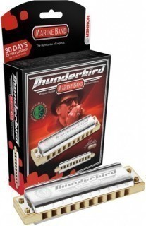 HOHNER Marine Band Thunderbird Low A (M201173X) - губная гармоника