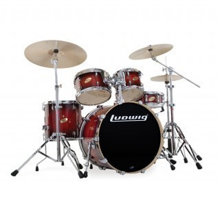 ������� ��������� LUDWIG  LC425 ����� � Accent CS Custom Glitter Series