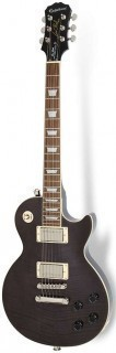 EPIPHONE LES PAUL TRIBUTE PLUS 60's MIDNIGHT EBONY - электрогитара с кейсом