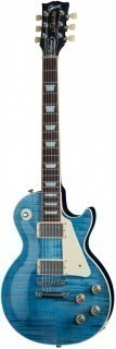 GIBSON USA LES PAUL TRADITIONAL 2015 OCEAN BLUE электрогитара с кейсом