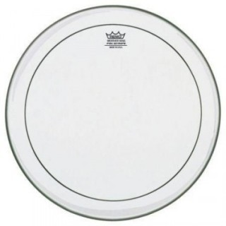 REMO PS-0318-00 Batter, Pinstripe, Clear, 18 пластик