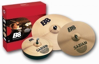 SABIAN 45003-NB Performance Set B8 - Набор тарелок 14 Hats, 16 Crash, 20 Ride