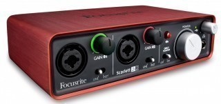FOCUSRITE Scarlett 2i2 2nd Gen USB - аудио интерфейс