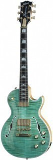 GIBSON USA LES PAUL SUPREME 2015 SEAFOAM GREEN - электрогитара с кейсом