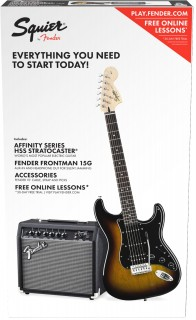 Fender Squier Affinity Series Stratocaster HSS Pack - Электрогитарный набор