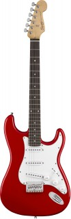 FENDER SQUIER MM STRATOCASTER HARD TAIL RED - электрогитара, цвет красный