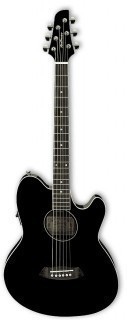 IBANEZ TCY10E-BK BLACK HIGH GLOSS - электроакустическая гитара