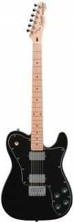 FENDER SQUIER VINTAGE MODIFIED TELECASTER CUSTOM MN BLACK - электрогитара