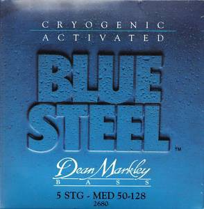 DEAN MARKLEY 2680 BLUE STEEL - Струны для бас-гитары