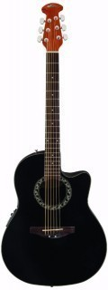 APPLAUSE AB24-5 Balladeer Mid Cutaway Black - электроакустическая гитара