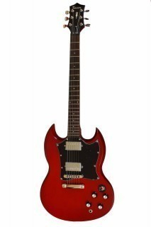 TENSON Nashville SD Set Neck Transparent Red - электрогитара