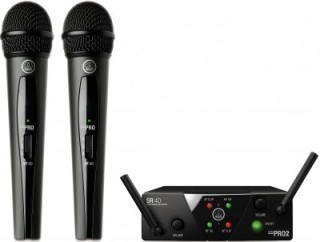 AKG WMS40 Mini2 Vocal Set BD ISM2/3 (864.375&864.850) - вокальная радиосистема